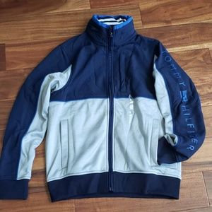 NWT Tommy Hilfiger men's fleece hooded jacket